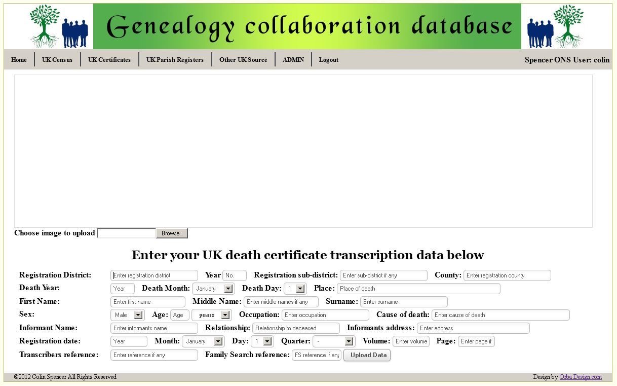 Death certificate template word free death certificate this blank printable death certificate template xflitez Image collections