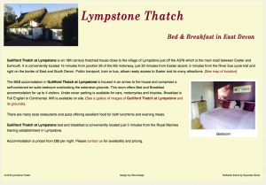 Lympstone Thatch